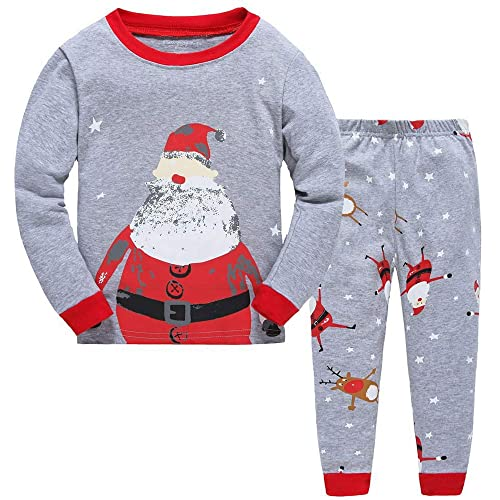TEDD Christmas Pjs Kids Pyjamas Set for Boys Pyjamas Cotton Toddler Baby  Clothes Girls Nightwear Fun 283ba1354