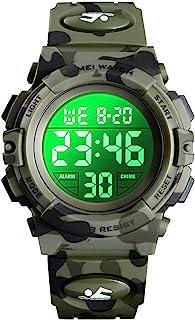 Boys Watch Digital Sports Waterproof Electronic Childrens...
