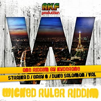 Wicked Ruler Riddim (Reggae New Roots Riddim By Kyderone)