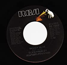 Elvis Presley Moody Blue / She Thinks I Still Care 45 rpm single