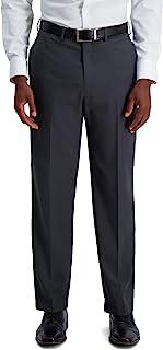 Haggar mens PLN TONAL GLEN PLAID PANT Dress Pants