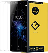 CENTAURUS XZ2 Compact Glass Screen Protector,(3 Packs) Anti-Glare Ultra-Thin Clear 9H Hardness Tempered Glass Protective Film Replacement for Sony Xperia XZ2 Compact H8324 H8314 5.0