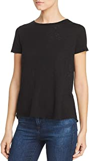 Three Dots Women's Vj1565 Eco S/S Tee W/Back Tie