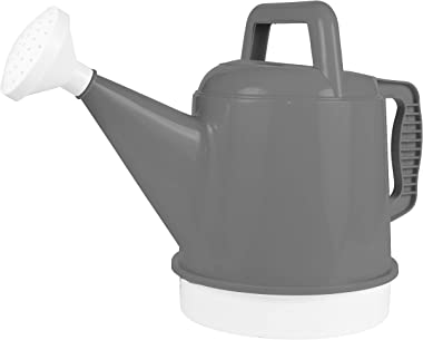 Bloem DWC2-908 Watering Can Deluxe 2.5 Gallon, Charcoal Gray