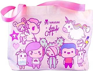 Cute Pastel Kawaii Tote Bag - Reusable Canvas Carrying Bag - tokidoki x iHasCupquake