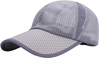 AIEOE - Gorra de Malla Ligera y de Secado rápido, Gorra de béisbol Unisex, Transpirable, para Verano, Adultos