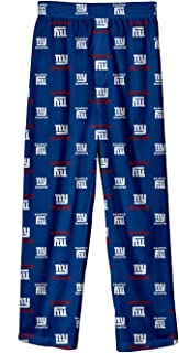 Outerstuff New York Giants Toddler NFL All Over Team Logo Pajama Sleep Pants