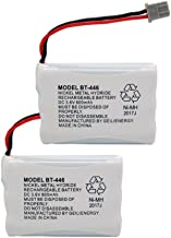 GEILIENERGY BT446 BT-446 BBTY0503001 BT-1004 BT-1005 GE-TL26402 BT-504 CPH-488B 3.6V 800mAh Rechargeable Battery Compatible with Uniden Cordless Phone(Pack of 2)