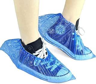 100 pi/èces Surchaussures Couvre-Bottes Non Tiss/é Shoe Covers Protecteurs pour Tapis de Sol Rose Yuer Couvre Chaussures Jetables