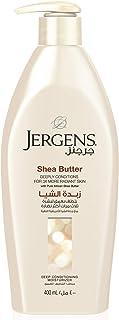 Jergens Shea Butter Deep Conditioning Moisturizer 400 ml, Pack of 1
