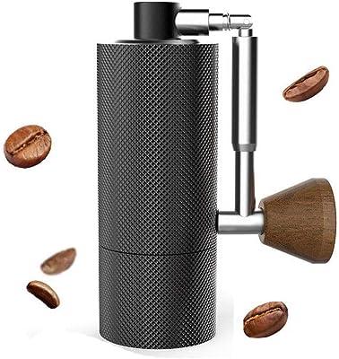 タイムモア TIMEMORE 手挽きコーヒーミル 手動式 NANO コーヒーグラインダー 全金属 ステンレス臼 粗さ調整可能 折り畳み式 清掃しやすい coffee grinder ダイヤモンド (NANOブラック)