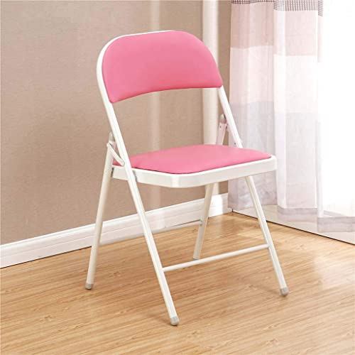FEFEFEF Chaise Pliante de Couleur Chaise de Formation Pliante pour étudiant Simple,h