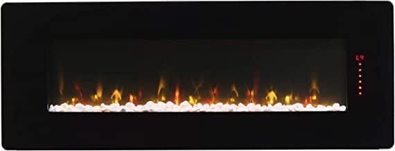 DIMPLEX Winslow Electric Fireplace, 48-INCH, Black