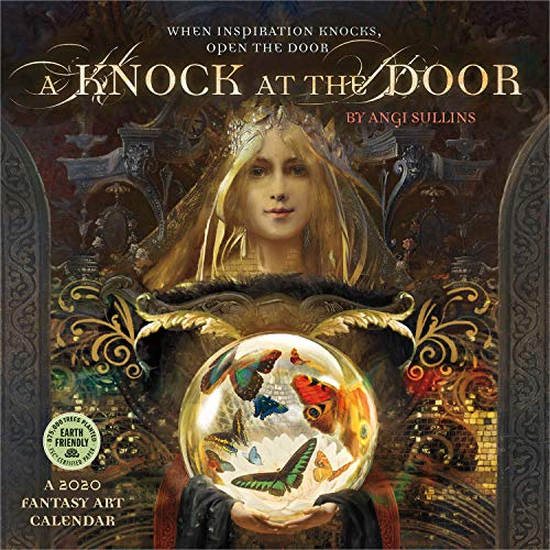 A Knock at the Door 2020 Fantasy Art Wall Calendar