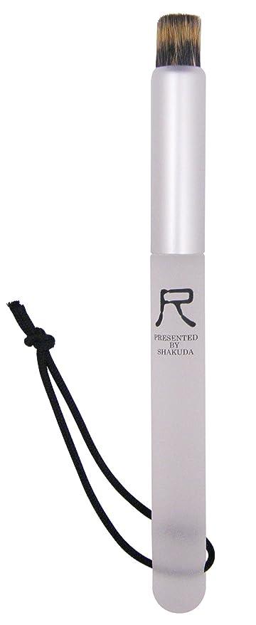 レコーダー十分です寄託熊野筆 尺 PRESENTED BY SHAKUDA 小鼻専用洗顔ブラシ