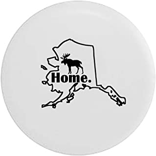 Pike Camo Wisconsin Badger Home State Edition RV Spare Tire Cover OEM Vinyl Black 27.5 in