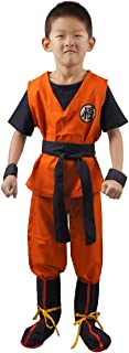 Boy's Son Goku Cosplay Costume
