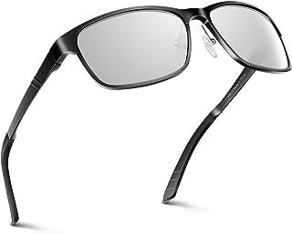 678f1488aa PAERDE Gafas de sol hombre Lente polarizada Gafas de conducción Al-Mg Marco  de metal
