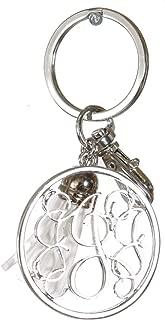 Keychains for women. Cute Keychain. Letter Charms. Monogram Keychain. Tasseled. Llaveros