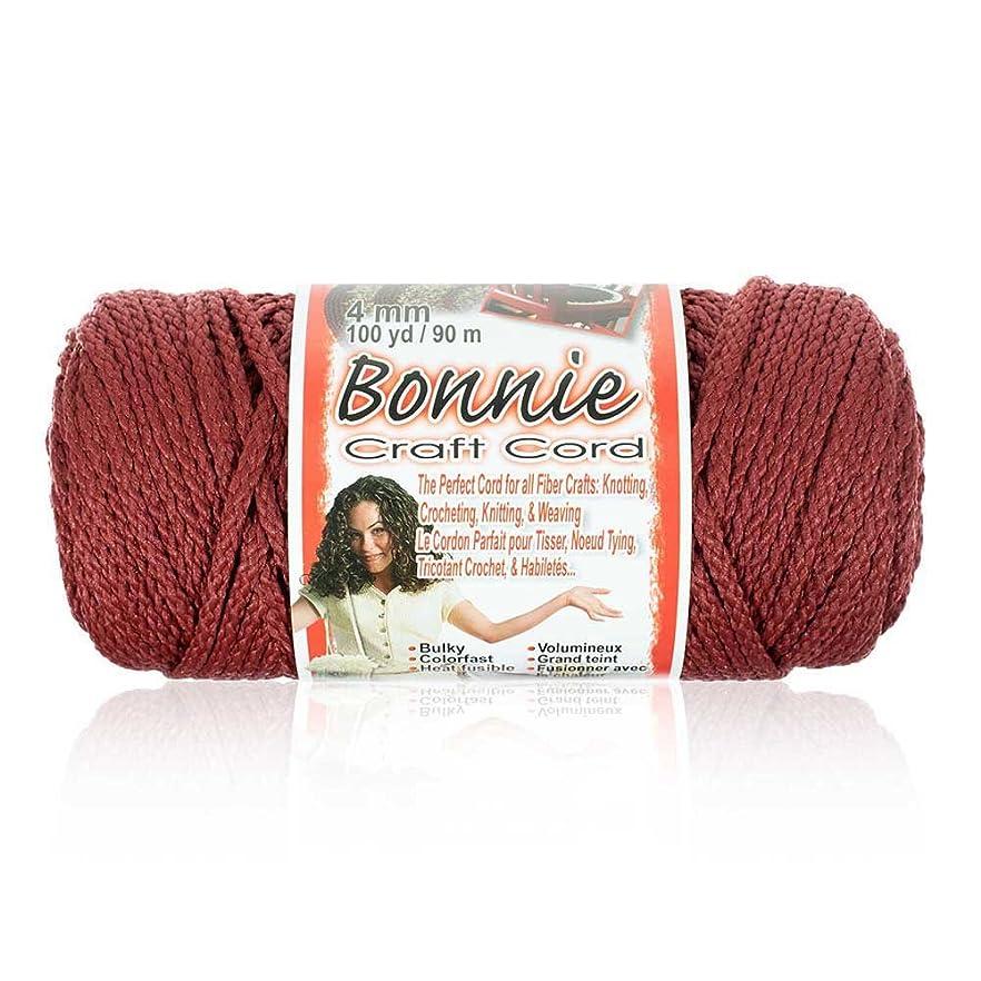 4MM Bonnie Cord, 100 Yards, Wine - Macrame Cord krhbebjgccpsc94