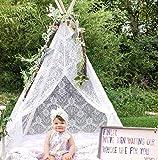 Tiny Land Tipi Enfants pour la Tente de jeu extérieure d'enfants d'intérieur, Tente...