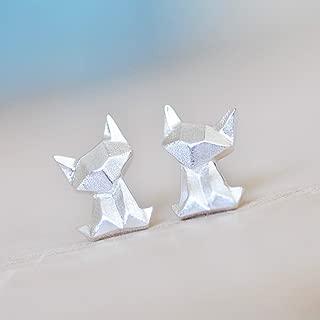 Best silver origami earrings Reviews