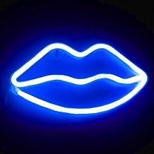 Xiyunte neonlicht lippen