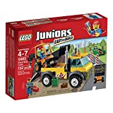LEGO Juniors 10683 Road Work Truck Building Kit by LEGO Juniors
