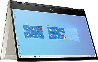 "2021 HP Pavilion X360 2-in-1 14"" FHD Touchscreen Laptop PC, Intel Core i5-1035G1 Processor, 8GB RAM, 256GB SSD, Backlit Ke..."