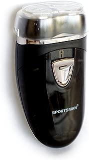 TPOS メンズシェーバー 髭剃り 乾電池式 携帯用 電動シェーバー