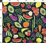 Gemüse, Obst, Früchte, Kochen, Sommer, Essen Stoffe -