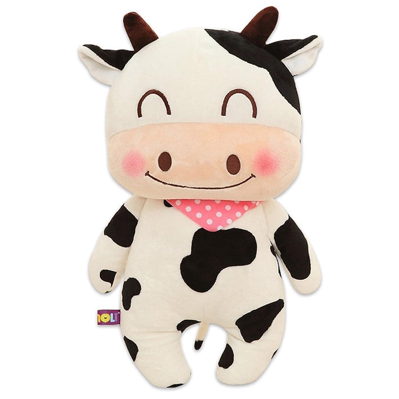 忘れる暫定の不信[XINXIKEJI]ぬいぐるみ 可愛い 牛 抱き枕 プレゼント 動物 大きい おもちゃ お祝い ふわふわ 子供 お誕生日 柔らかい 特大 お人形 女の子 男の子 女性 赤ちゃん 贈り物 彼女彼氏 ギフト 母の日 父の日 41CM