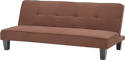 Glory Furniture Futon Sofa Bed, Chocolate