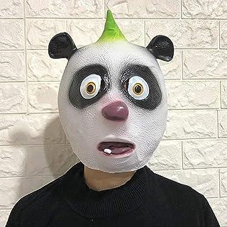 Chunjiao Panda Funny Mask - Deluxe Novelty Costume Party Latex Animal Head Unisex-Adult Halloween mask