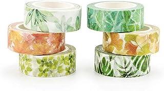 NLR Masking Washi Tape Set # Sense of Plants # 6-Rollen   15
