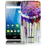 thematys Passend für Acer Liquid Z630 Traumfänger Silikon Schutz-Hülle weiche Tasche Cover Case Bumper Etui Flip Smartphone Handy Backcover Schutzhülle Handyhülle