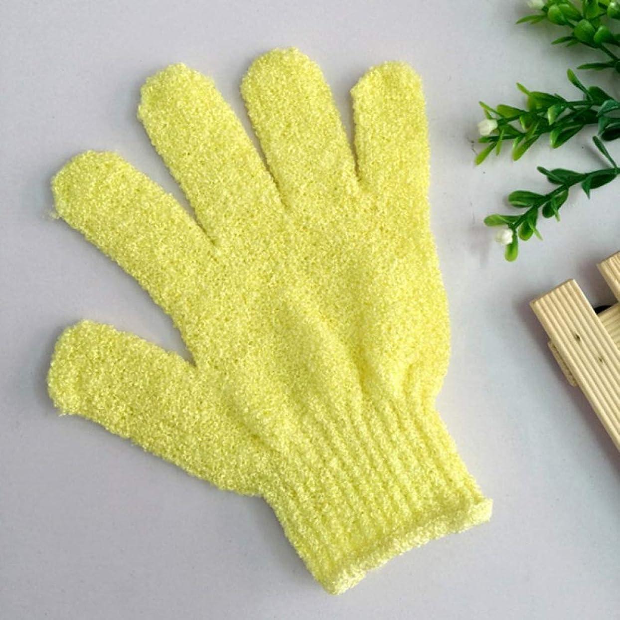 ダニ第五アクセルBYWWANG バスタオル入浴用手袋両面洗浄用入浴用手袋