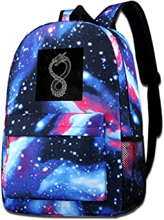 Galaxy Printed Shoulders Bag Ouroboros Takeshi Kovacs Tattoo Altered Carbon Fashion Casual Star Sky Backpack For Boys&girls