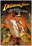 Indiana Jones Raiders of The Lost Ark Movie Poster 24 x 36 Inches Full Sized Print Unframed Ready for Display