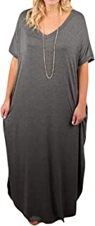 Best plus size t shirt maxi dress Reviews