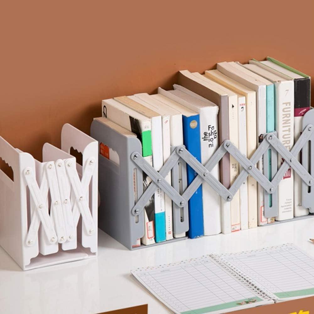 Non Facile da Scolorire Scuola Miystn Fermalibri Ufficio 1 Pezzo, Grigio Porta Libri Estremit/à dei Libri Creativi per Casa Antiruggine