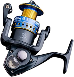 RGTOPONE [ All-Metal Saltwater Spinning Reel Professional Outdoor Sport Metal Strong Corrosion Resistance Fishing Reels Left/Right Bearing High Speed Spinning Reel Gear for Fishing Enthusiasts