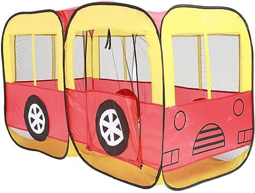 Jakiload Playhouse d'intérieur de Jouets de Tente de Jeu d'enfants d'enfants avec Le Type portable portatif Pliable (Couleur   jaune)