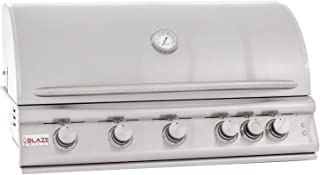 Blaze Built-In Grill with Lights (BLZ-5LTE2-NG), 40-inch, Natural Gas