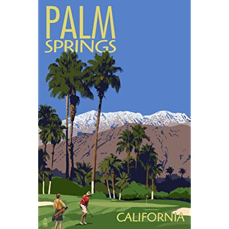 PALM SPRINGS Travel Poster California
