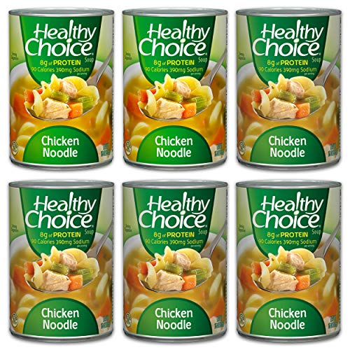 Healthy Choice Chicken Noodle Soup 15 oz pack of 6