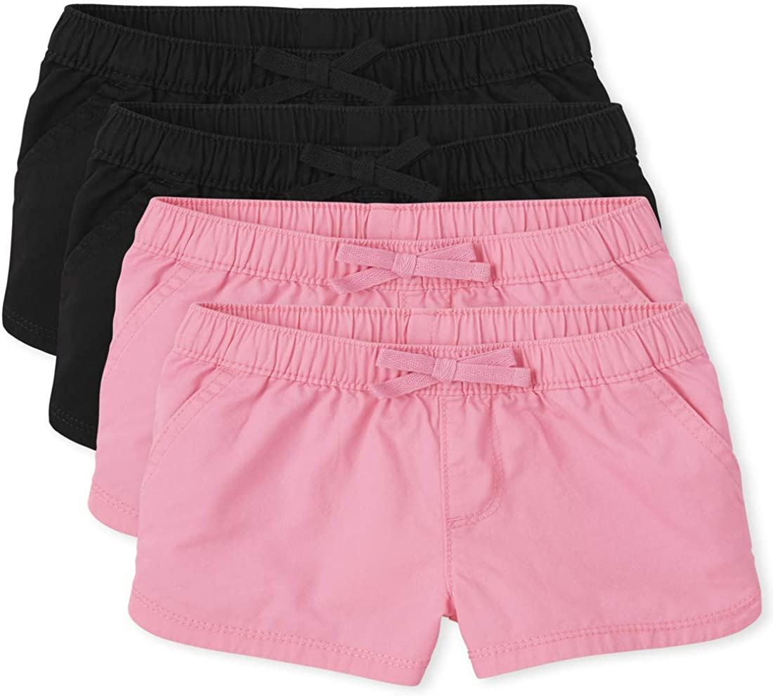 Super popular specialty store The Children's Arlington Mall Place Toddler Girls Shorts Pull 4-Pack On