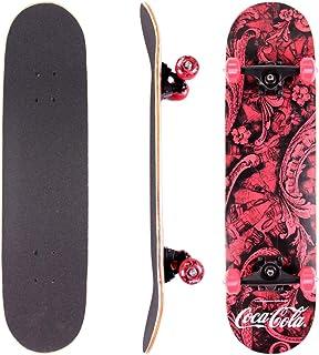 Skateboard Coca-cola Vermelho/Preto