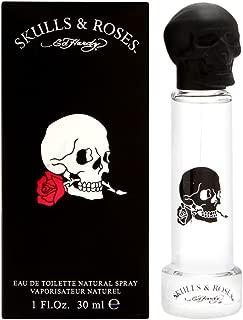 Ed Hardy Skulls & Roses by Christian Audigier for Men 1.0 oz Eau de Toilette Spray