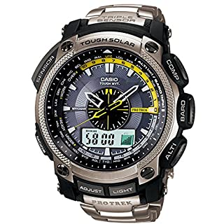 Casio PRO Trek Men's Watch PRW-5000T-7ER (B0039UT5TA) | Amazon price tracker / tracking, Amazon price history charts, Amazon price watches, Amazon price drop alerts